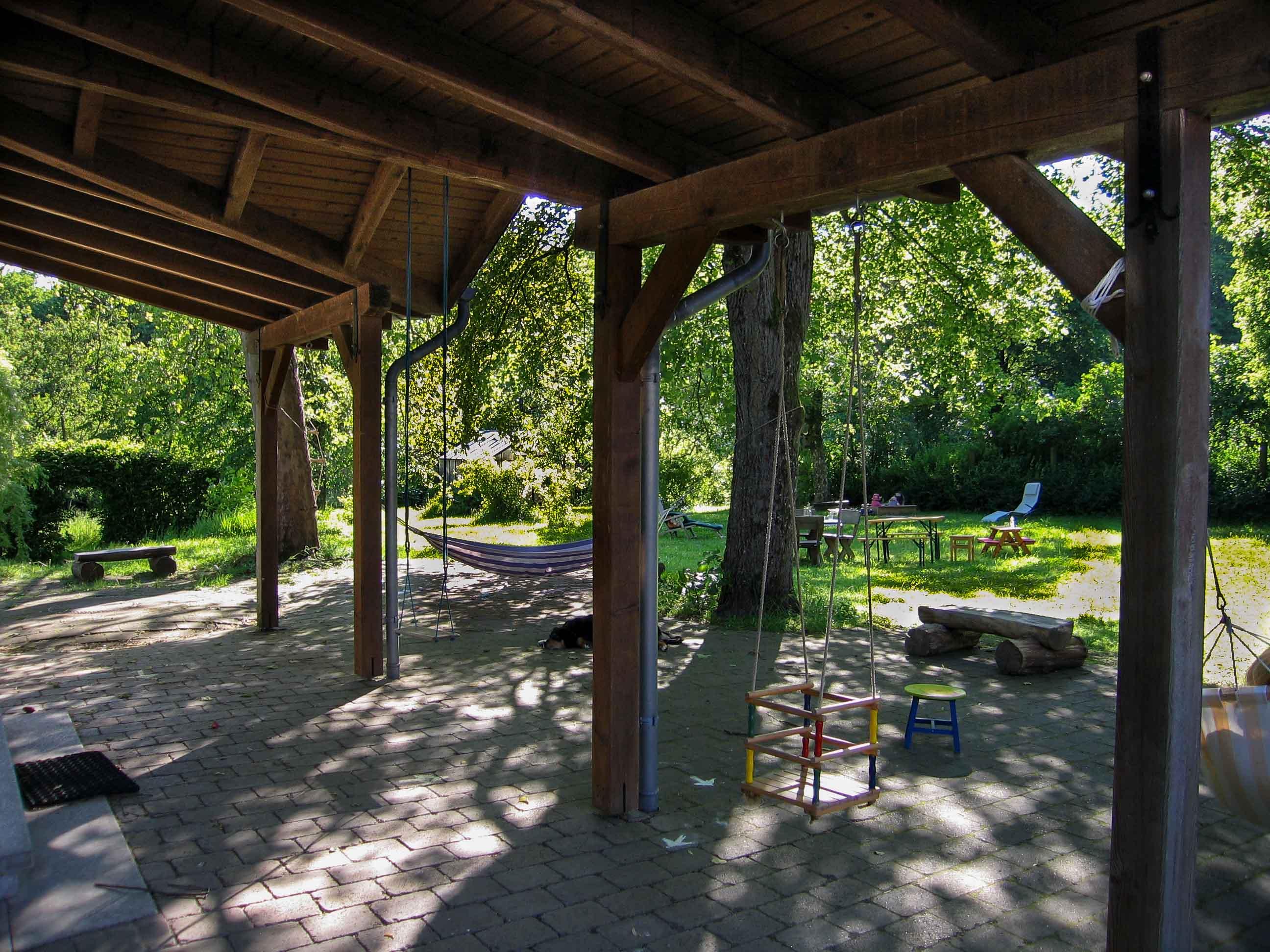 Bilder Terasse ferienhaus haus jagdschlösschen in der biosphärenregion bliesgau